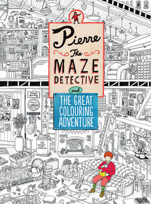 Pierre the Maze Detective and The Great Colouring Adventure by IC4DESIGN, Hiro Kamigaki