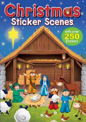 Christmas Sticker Scenes by Juliet David
