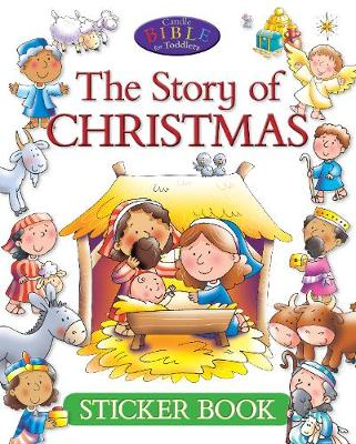 The Story of Christmas Sticker Book by Juliet David