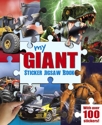 My Giant Sticker Jigsaw Book by