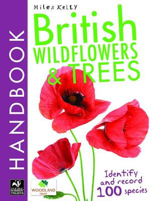 British Wildflowers and Trees Handbook by Camilla De la Bedoyere