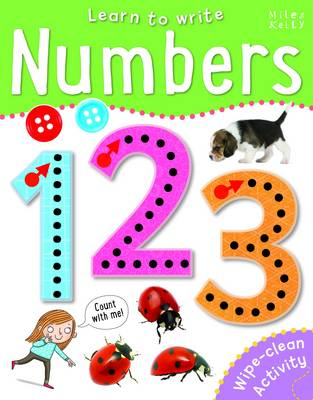 Learn to Write Numbers by Belinda Gallagher