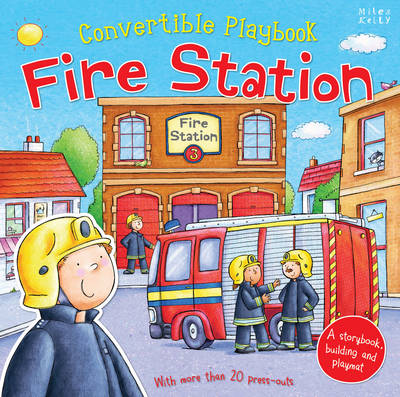 Convertible Playbook Fire Station by Claire Phillip