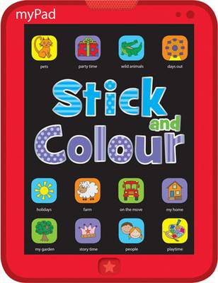 Mini Colouring Books: My Pad Stick and Colour by