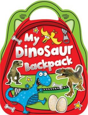 My Dinosaur Backpack Shaped Sticker Activity Books by Make Believe Ideas