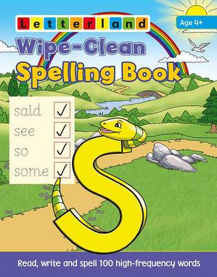 Wipe-Clean Spelling Book by Lisa Holt, Lyn Wendon