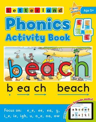 Phonics Activity Book 4 by Lisa Holt, Lyn Wendon
