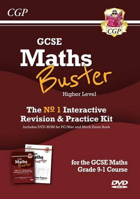 New MathsBuster: GCSE Maths Interactive Revision (Grade 9-1 Course) Higher by CGP Books