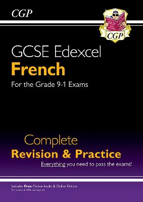 New GCSE French Edexcel Complete Revision & Practice (with CD & Online Edition) - Grade 9-1 Course by CGP Books