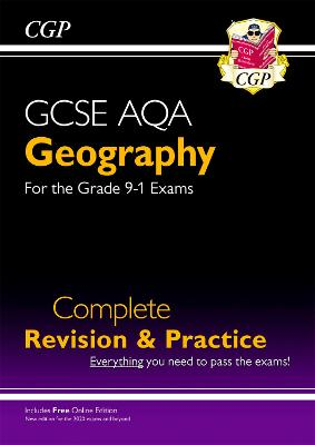 New Grade 9-1 GCSE Geography AQA Complete Revision & Practice (with Online Edition) by CGP Books