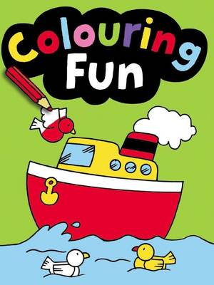 Colouring Fun: Green by David Crossley