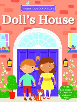 My Press Out and Play Book Doll's House by