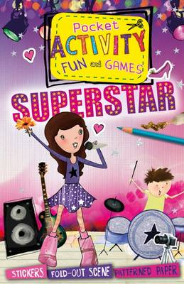 Pocket activity fun and games Superstar by Melissa Fairley