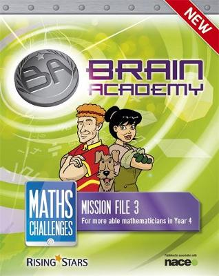Brain Academy: Maths Challenges Mission File 3 by Steph King, Richard Cooper