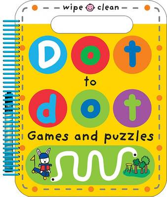Dot to Dot Games and Puzzles by Roger Priddy