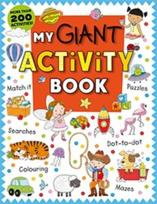 My Giant Activity Book by Roger Priddy