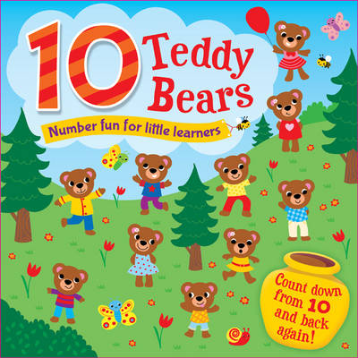 10 Little Teddies by