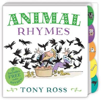 My Favourite Nursery Rhymes Board Book: Animal Rhymes by Tony Ross