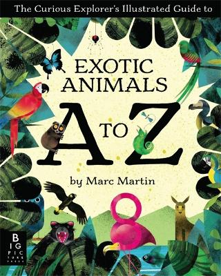The Curious Explorer's Illustrated Guide to Exotic Animals A to Z by Marc Martin