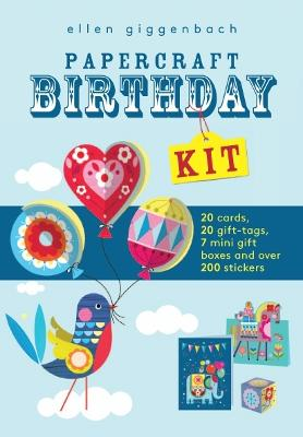 Ellen Giggenbach: Papercraft Birthday Kit by Templar Internal Design