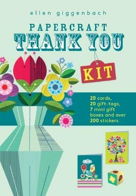 Ellen Giggenbach: Papercraft Thank You Kit by Ellen Giggenbach