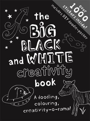 The Big Black & White Creativity Book by Frankie J. Jones