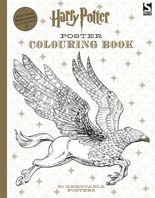 Harry Potter Poster Colouring Book by