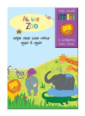 Colour Me Again and Again Book - At the Zoo by