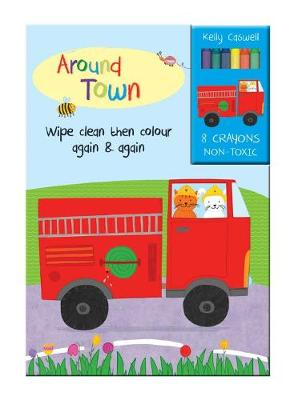 Colour Me Again and Again Book - Around Town by