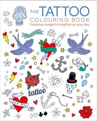 The Tattoo Colouring Book by Arcturus Publishing