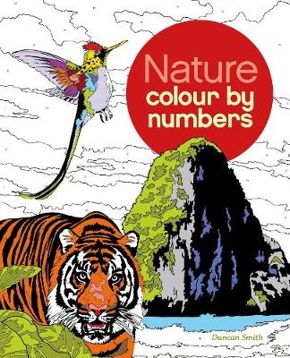 Colour by Number Nature by Arcturus Publishing