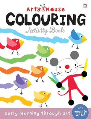 Arty Mouse Colouring by Susie Linn