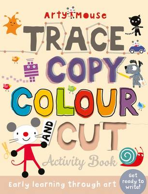 Trace, Copy, Colour and Cut by Susie Linn