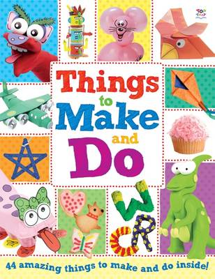 Things to Make and Do Activity Books by Nat Lambert
