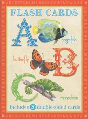 Animal Flash Cards: ABC by Camilla de le Bedoyere
