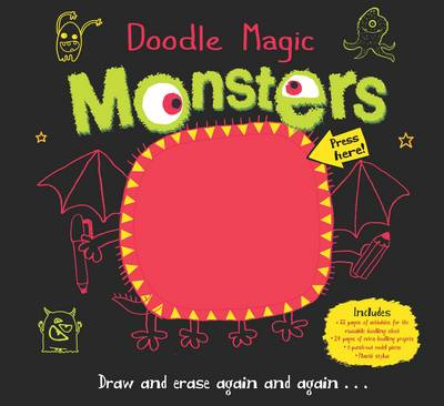 Doodle Magic Monster by Srimalie Bassani