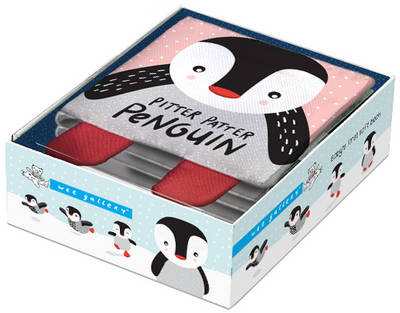 Pitter Patter Penguin Baby's First Soft Book by Surya Sajnani