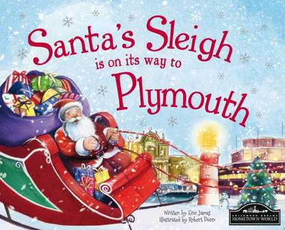Santa's Sleigh is on its Way to Plymouth by Eric James