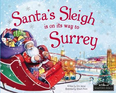 Santa's Sleigh is on it's Way to Surrey by Eric James