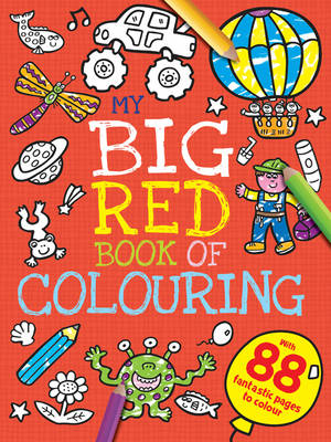 My Big Red Book of Colouring by