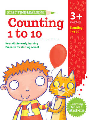 3+ Counting 1-10 by