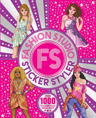 The Ultimate Fashion Sticker Activity Book by