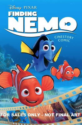 Disney Pixar Finding Nemo Cinestory Comic by Disney Pixar