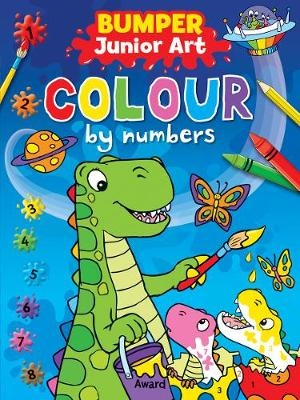Bumper Junior Art Colour by Numbers by Angela Hewitt