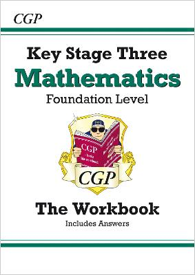 KS3 Maths Workbook (with Answers) - Foundation by CGP Books