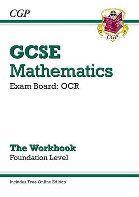 GCSE Maths OCR Workbook with Online Edition - Foundation (A*-G Resits) by CGP Books