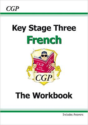 KS3 French Workbook with Answers by CGP Books