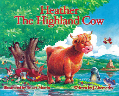 Heather the Highland Cow by J. Abernethy