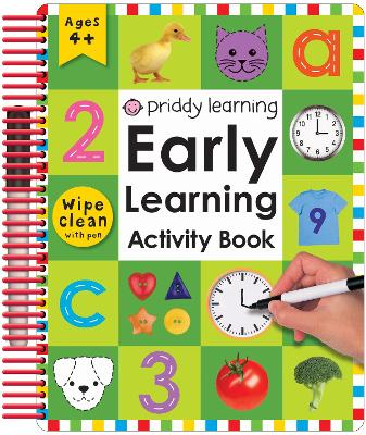Early Learning Activity Book by Roger Priddy