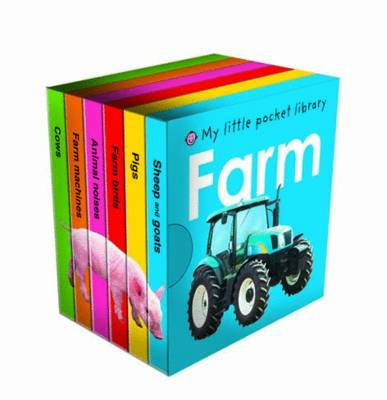 My Little Pocket Farm Library by Roger Priddy